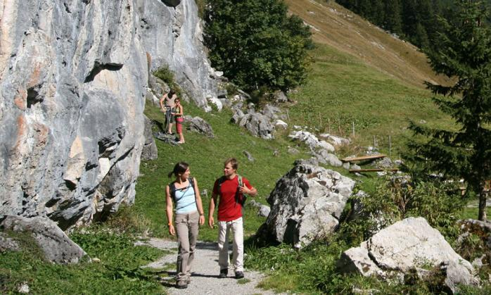 Climbing in the Lechtal valley