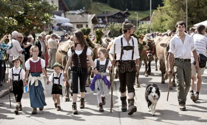 Events in the Lechtal valley